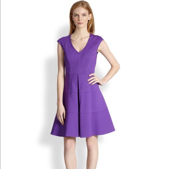 Nanette Lepore Dresses & Skirts - Nanette Lepore Pueblos violet fit and flare dress