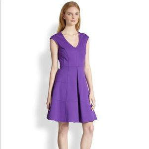 Nanette Lepore Dresses - Nanette Lepore Pueblos violet fit and flare dress