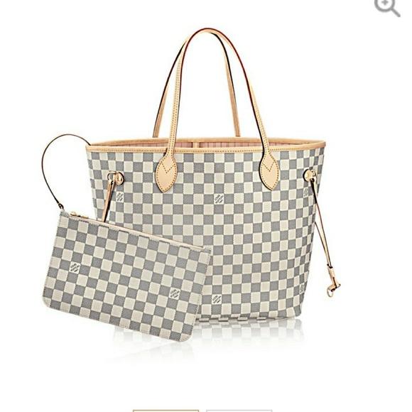 ac3779590 Louis Vuitton Bags | Iso Damier Azur Bag | Poshmark