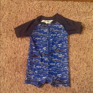 Baby boy swimsuit.