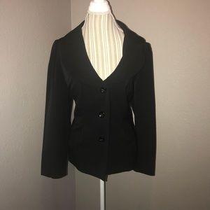 Apt. 9 Women's 3 button Black Blazer
