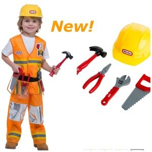 Other - Little Tikes Construction Worker Toddler Costume