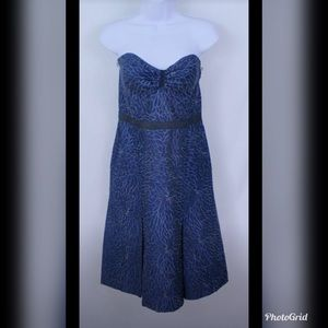 Navy Tracy Reese Cocktail Dress Size 8