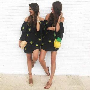 VAVA by Joy Han Carys pineapple dress