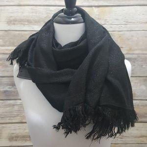 NWT BCBGMAXAZRIA metallic scarf