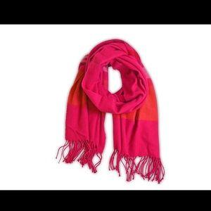 ❄️Oversized Pink Plaid Wrap Scarf❄️ NWT