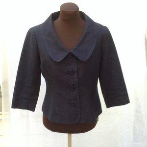 Chadwick's navy linen blazer