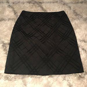 Halogen Size 8 Black Skirt