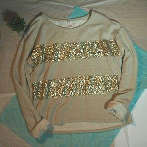 Sequin Sweater/Sweatshirt