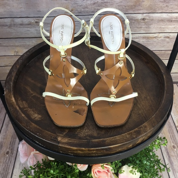 5fa15104022d Louis Vuitton Shoes - AUTHENTIC LOUIS VUITTON Capricieuse Wedge