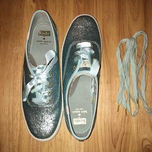 15c5c3a85a28 kate spade Shoes - Keds x Kate Spade New York Champion Blue Glitter