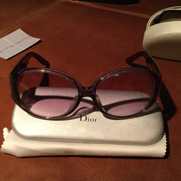 0c5c11a9671 Dior Accessories - Dior sunglasses 😎 purple frames and tinted lens