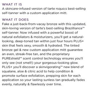 tarte Makeup - Brand new Tarte Brazilliance Self-Tanner 15ml
