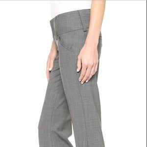 Alice + Olivia Bootcut Wide Waist Stretch Pants