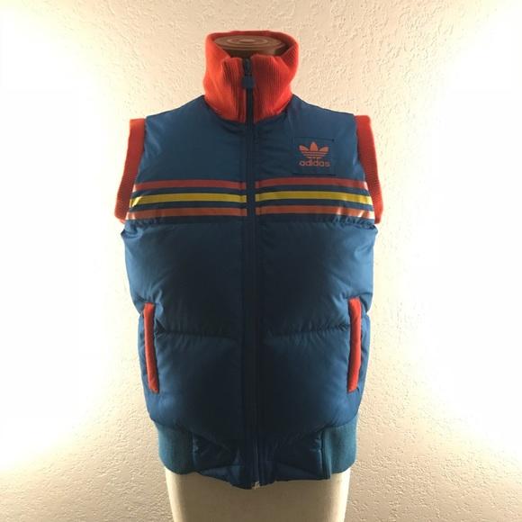 talento Volverse loco Nuez  adidas Jackets & Coats | Vintage Adidas Puffy Vest | Poshmark