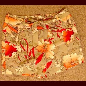 NWT Worthington Floral Shorts