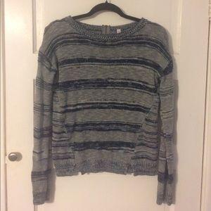 Striped Blue Sweater