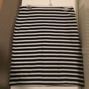 Striped Merona Skirt, Size 6, worn once