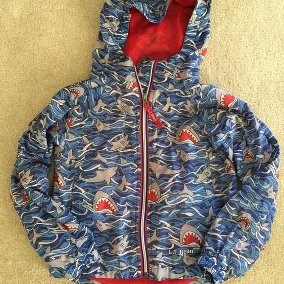 5f674f3c1 L.L. Bean Jackets & Coats | Llbean Kids Discovery Rain Jacket Shark ...
