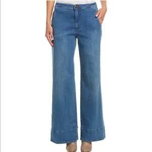 Free people elm high waisted jeans