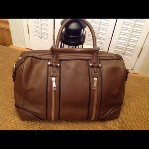 Large Brown Satchel Bag