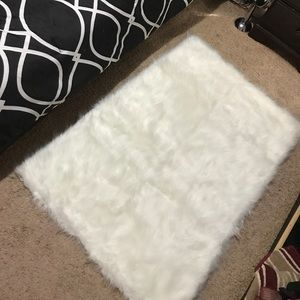 Other - Faux Fur Rug! New!