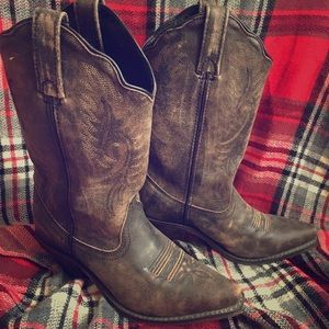 Cowgirl Boots with Arch Support