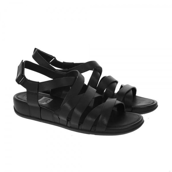 1ed685697ef98 FitFlop Lumy Leather Strappy Gladiator Sandals