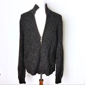 Men's Banana Republic Merino Wool Zip Up Sweater