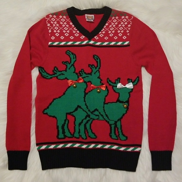Spencer's Sweaters | Obscene Christmas Sweater Ugly Christmas ...