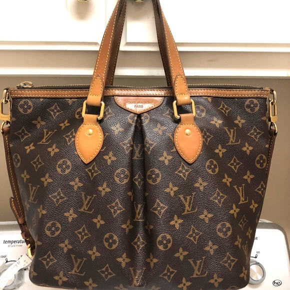 Louis Vuitton Handbags - Louis Vuitton Monogram Palermo Pm Brown Satchel 382b4e300e11b