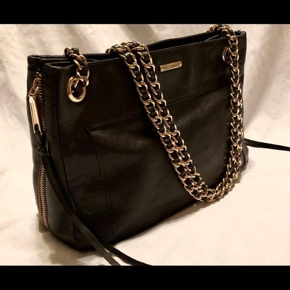 cf0dd89a1598 Rebecca Minkoff  Swing  Double Chain Shoulder Bag.  M 5a0a63a9c6c795cef9017493
