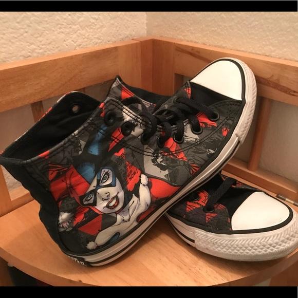 28f4c2024a88 Converse Shoes - Harley Quinn Converse All-Star high tops.