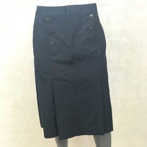 Madewell Sailor Skirt Blue NWT