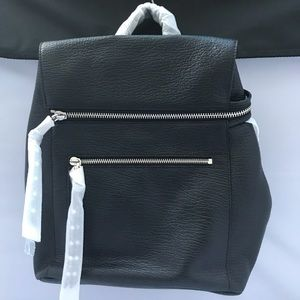 💯 Rebecca Minkoff Jane Backpack in Black- NWT!