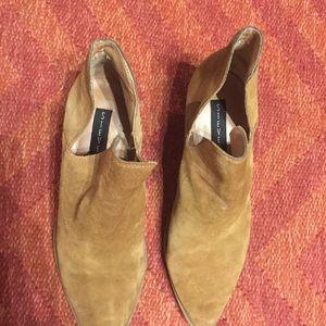 Steven By Steve Madden Shoes - Steven by Steve Madden Dextir tan booties 9.5
