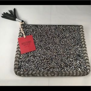 Mossimo Supply Co. Large Sequin Clutch