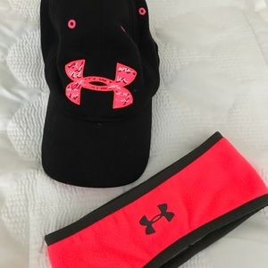 Under Armour Hat and Headband Set