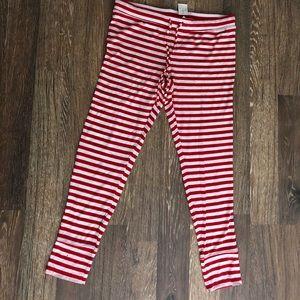 Candy Cane Strip Sleepwear Pants