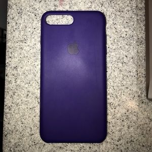 new concept a43b7 b566b Ultra violet Apple iPhone 7/8 plus silicone case