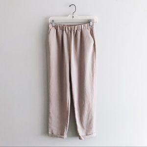 🌲 vintage style, minimalist trousers