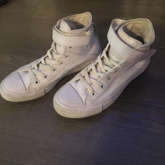 high tops with straps