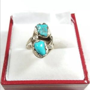 Jewelry - MULTI STONE DESIGN RING WITH TURQUOISE.