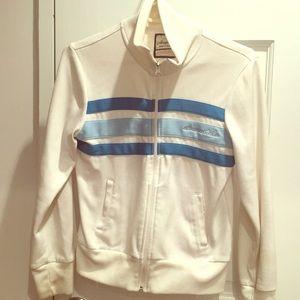 Versatile White Fitness workout Jacket