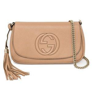 6897a416afa7 Gucci Bags   New Borsa Soho Leather Chain Crossbody Bag   Poshmark