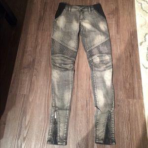 BCBG Maxaria black jeans