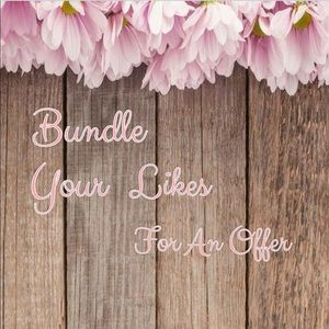 Bundle your Likes so I can Send you an Offer!