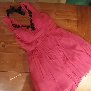 Shocking pink party frock! NWT Tracy Reese