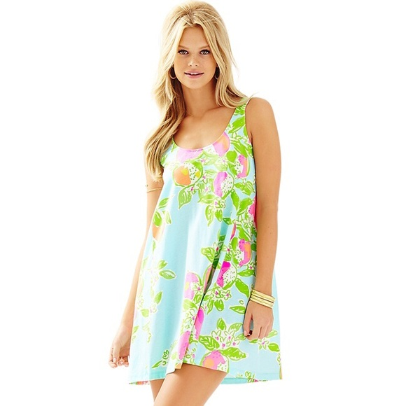 468681a6c5 Lilly Pulitzer Dresses & Skirts - Lilly Pulitzer S Carmel Tank Dress Pink  Lemonade