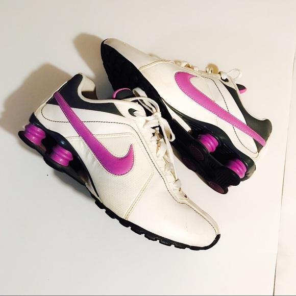 buy popular 2922d ea248 Nike Shox Purple & White